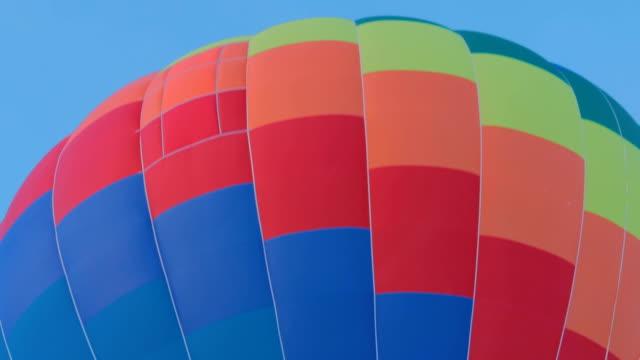 Hot air balloon takes off video
