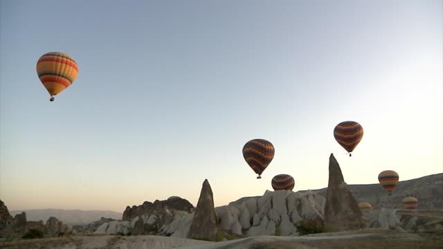 Hot Air Balloons on Cappadocia video