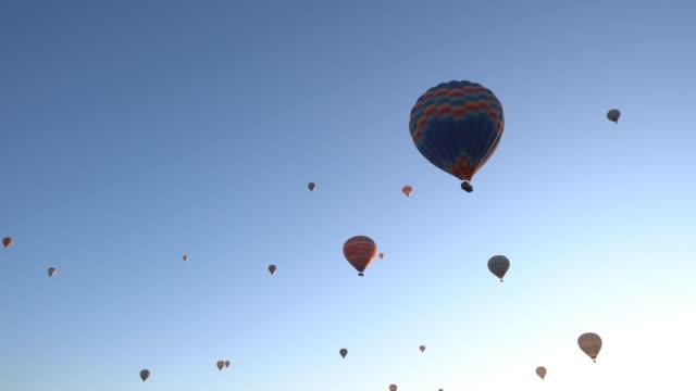 Hot Air Balloons Hot Air Ballons cinemagraph hot air balloon stock videos & royalty-free footage
