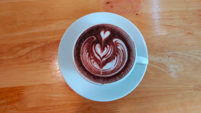 Hot Chocolate Shot By Smart Phone