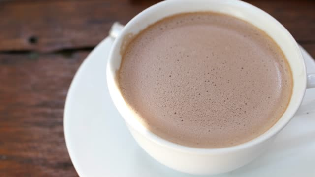 Hot chocolate Hot chocolate, 4K mug stock videos & royalty-free footage