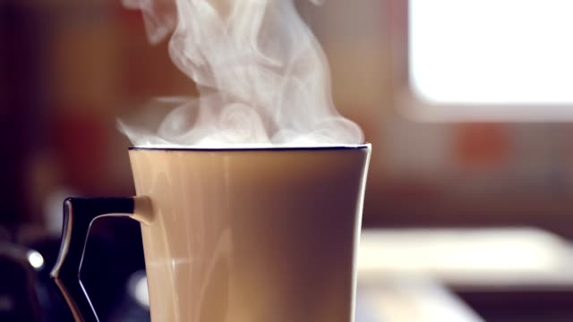 Hot Drink Steaming