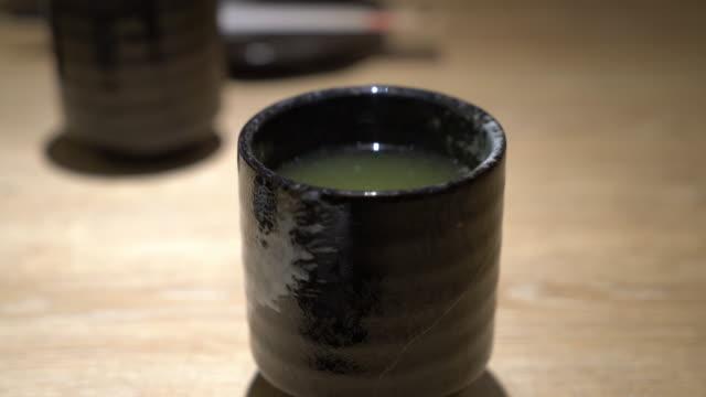 hot matcha - japanese style