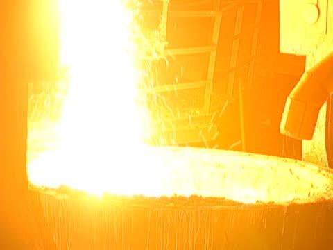 vídeos y material grabado en eventos de stock de metal caliente - aleación