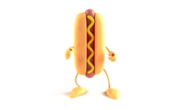 Hotdog dancing​ video
