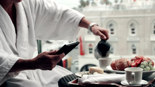 SLOW MOTION - Hotel Breakfast Wireless video