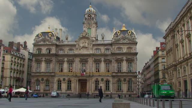 Hotel de Ville - Lyon, France video