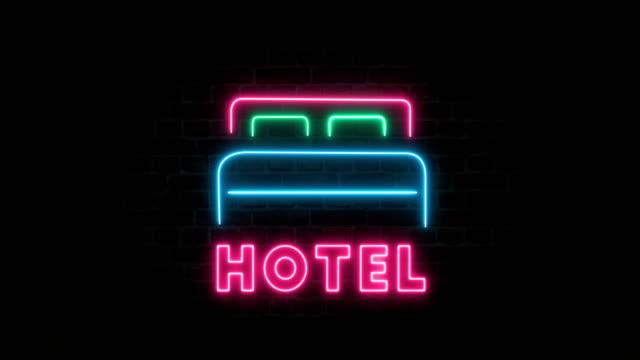 Hotel Neon Sign