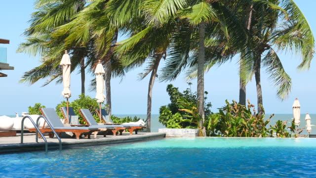 Hotel pool video