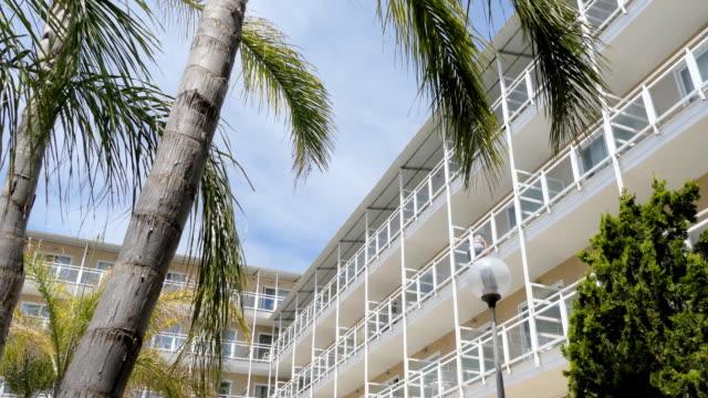 Hotel Resort Balcony Rows
