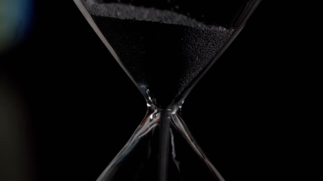 Hourglass closeup Countdown, Falling, Manufactured Object, Sand, hourglass stock videos & royalty-free footage
