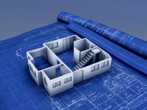 House blueprint ( NTSC/PAL) video
