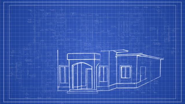 Royalty Free House Blueprint HD Video, 4K Stock Footage & B-Roll ...