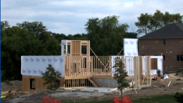 House Construction Time Lapse video