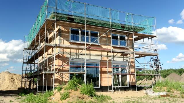 House construction, Time Lapse video