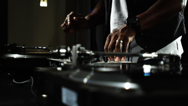 dj house party - hip hop video stock e b–roll