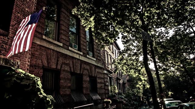 häuser in brooklyn - sandstein stock-videos und b-roll-filmmaterial