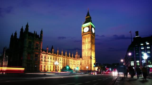 Houses Of Parliament und Big Ben, London – Video
