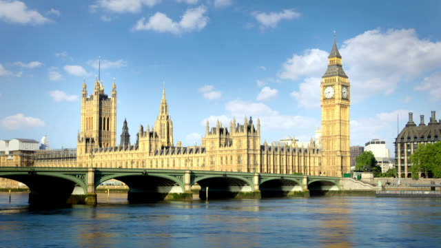 Houses Of Parliament and Big Ben video
