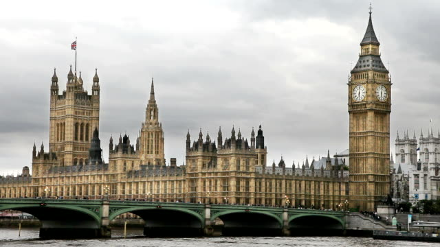 Houses of Parliament in London video