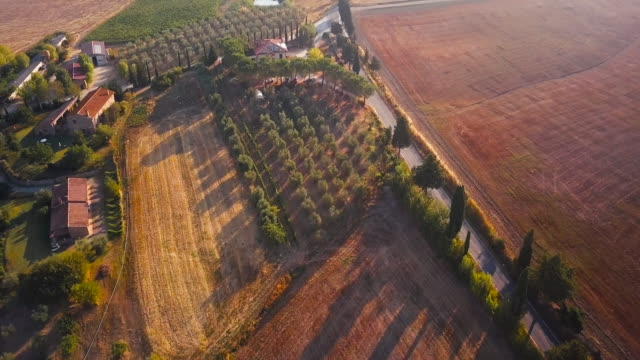 Houses of Val d'Orcia video