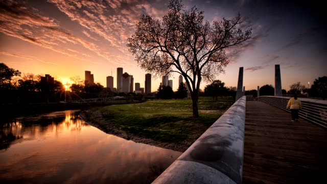 Houston Bayou Sunrise video