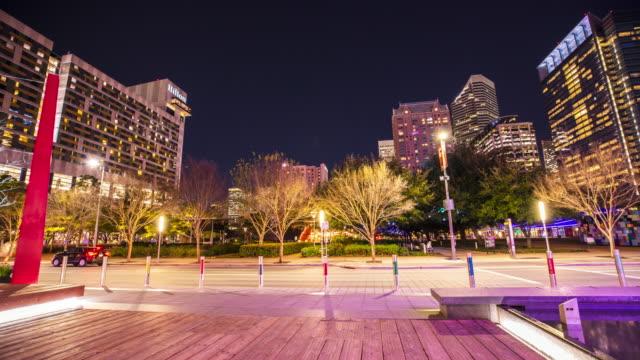 Houston Skyline Time-lapse