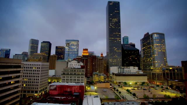 Houston, TX: Night to day time-lapse