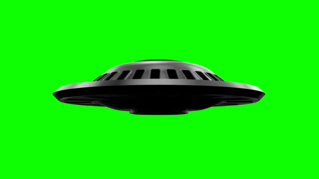 Hovering Flying Saucer video