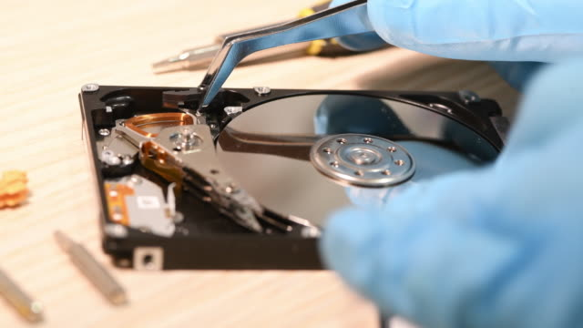 How to fix hard disc