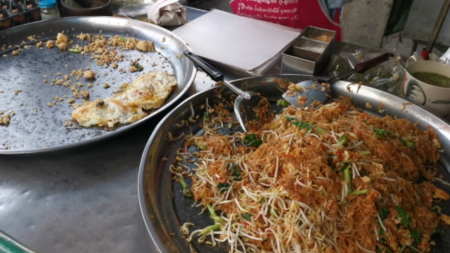 How to make fried rice, street food video