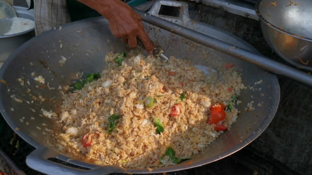 How to make fried rice video