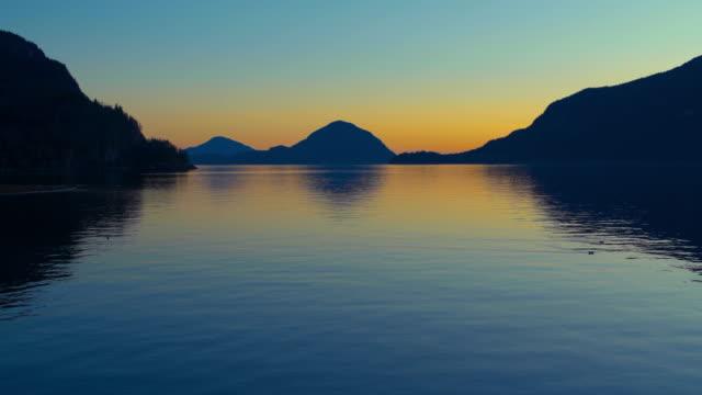 Howe Sound Sunset British Columbia video