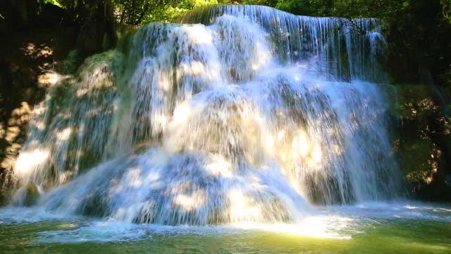 准 mae khamin 滝 - 湧水点の映像素材/bロール