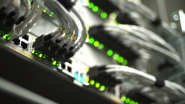 PAN Hub Cable Network Close-up