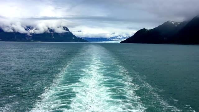 stockvideo's en b-roll-footage met hubbard glacier - cruise