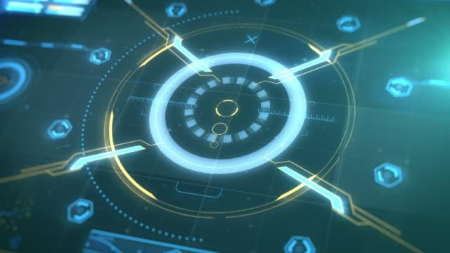 Hud Control Panel - Future interface video