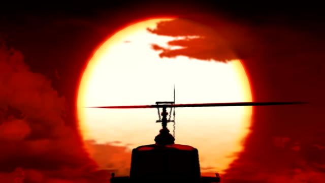 huey вертолёт - война стоковые видео и кадры b-roll