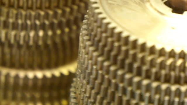 Huge circular valves in layers video