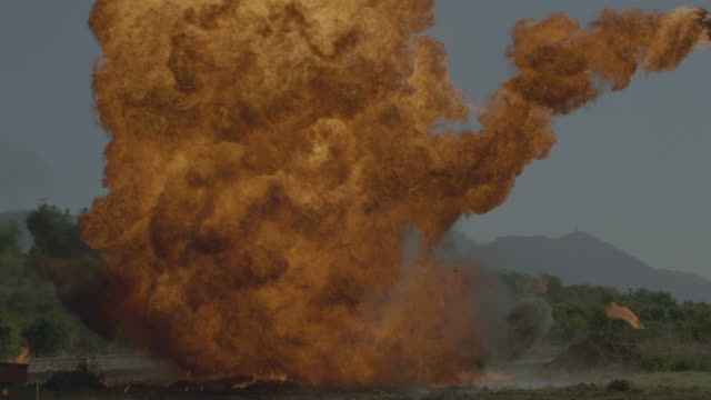 Huge Explosion video