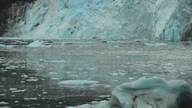 Huge Glacial Calve HD video