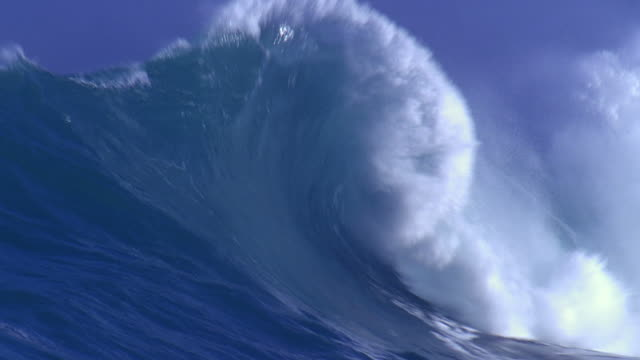 Huge Wave Shot in HD on location in Uruguay. wave pattern stock videos & royalty-free footage