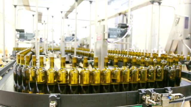 huge wine bottling plant video