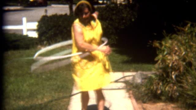 フラフープが 1960 年代 - アーカイブ画像点の映像素材/bロール