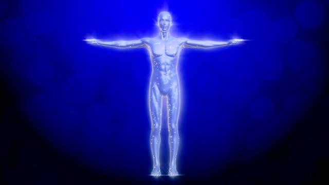 human body radio waves video