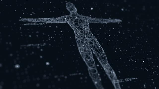 vídeos y material grabado en eventos de stock de exploración tecnológica del cuerpo humano - escán médico