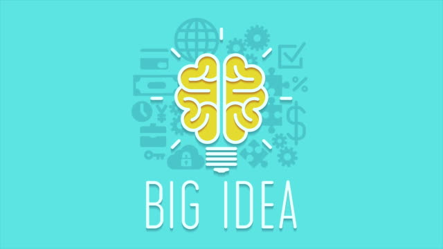 Human brain, Big idea concept animation video video
