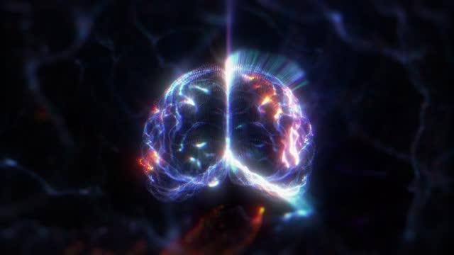 Human Brain Hologram