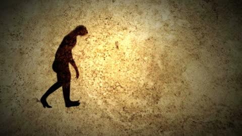 vídeos y material grabado en eventos de stock de evolución humana - desarrollo