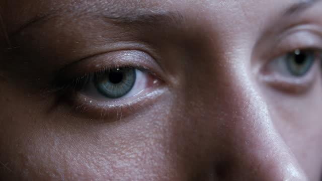 vídeos de stock e filmes b-roll de human eye - sobrancelha